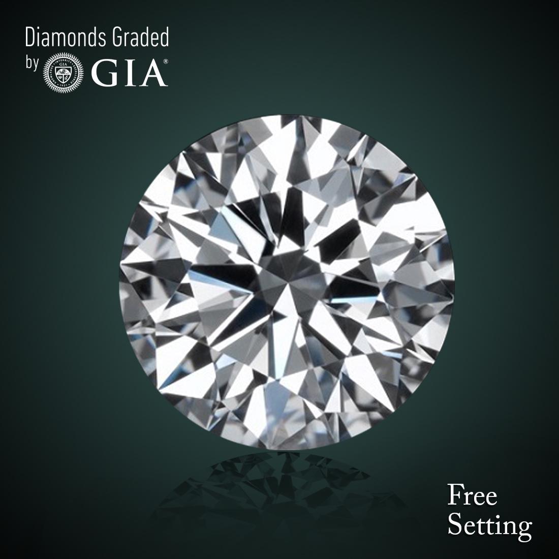 6.51 ct, Color D/FL, Round cut Diamond