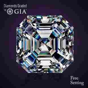 304 ct Color GIF Sq Emerald cut Diamond
