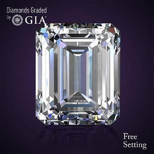 202 ct Color GVS1 Emerald cut Diamond