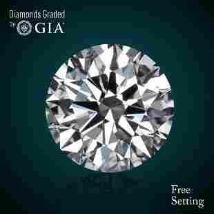 401 ct Color IVS1 Round cut Diamond