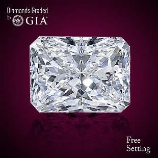 319 ct Color GVS2 Radiant cut Diamond