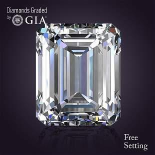 201 ct Color FVS1 Emerald cut Diamond