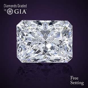 303 ct Color IVS1 Radiant cut Diamond