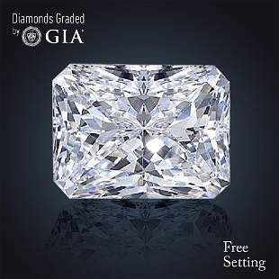 352 ct Color GVS2 Radiant cut Diamond