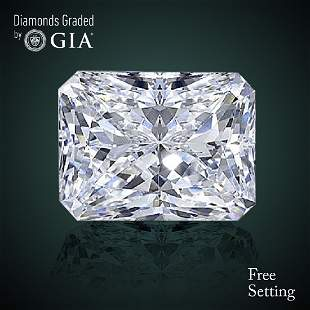 305 ct Color DIF Radiant cut Diamond