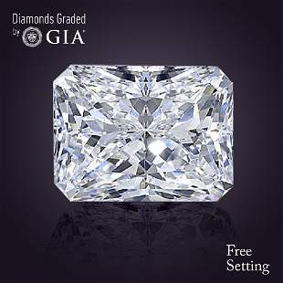201 ct Color GVS2 Radiant cut Diamond