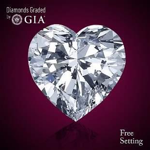 302 ct Color FIF Heart cut Diamond
