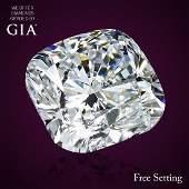 5.11 ct, Color E/IF, Cushion cut Diamond