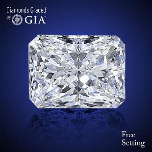 302 ct Color IVS1 Radiant cut Diamond