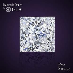 302 ct Color HVS1 Princess cut Diamond
