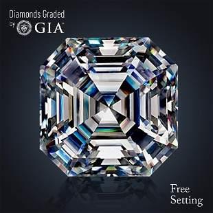 202 ct Color FVVS2 Sq Emerald cut Diamond