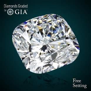 302 ct Color HVVS1 Cushion cut Diamond