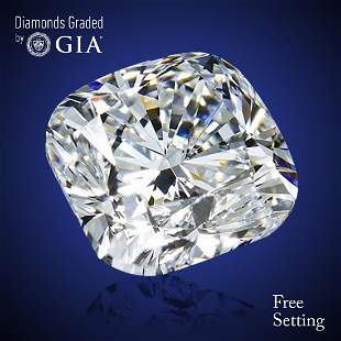 304 ct Color GVVS2 Cushion cut Diamond