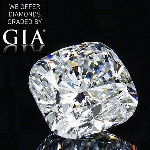 4.50 ct, Color G/VVS2, Cushion cut Diamond