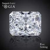 4.06 ct, Color E/VS1, Radiant cut Diamond