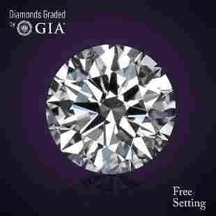 511 ct Color IVS1 Round cut Diamond