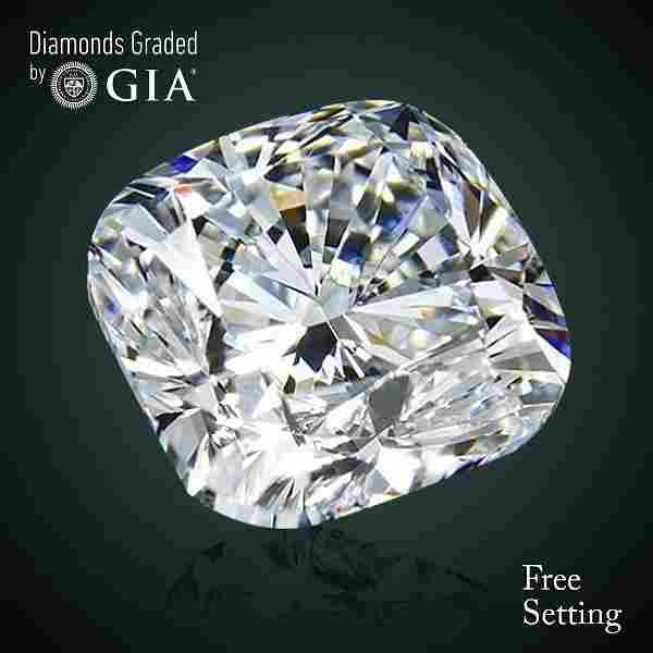 2.07 ct, Color G/VS1, Cushion cut Diamond