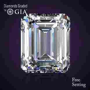 402 ct Color IIF Emerald cut Diamond