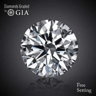 270 ct Color FVVS1 Round cut Diamond