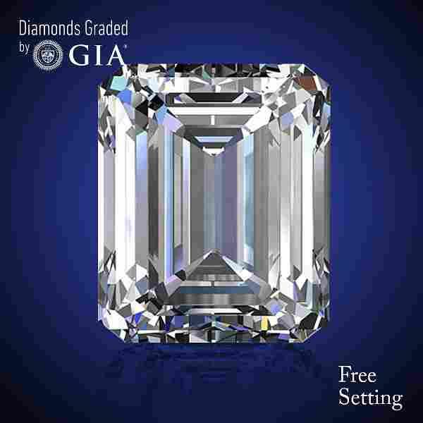 2.01 ct, Color D/IF, Emerald cut Diamond