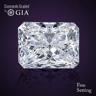 300 ct Color GVS2 Radiant cut Diamond