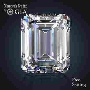 301 ct Color EVVS1 Emerald cut Diamond