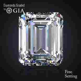 453 ct Color DFL Emerald cut Diamond