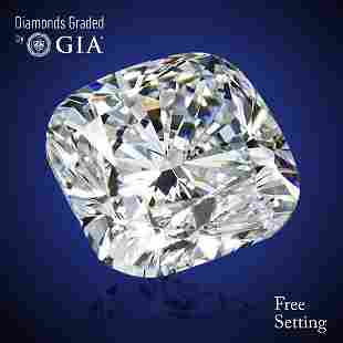 302 ct Color GVVS1 Cushion cut Diamond