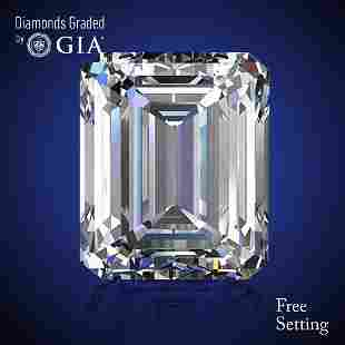 502 ct Color GVVS2 Emerald cut Diamond