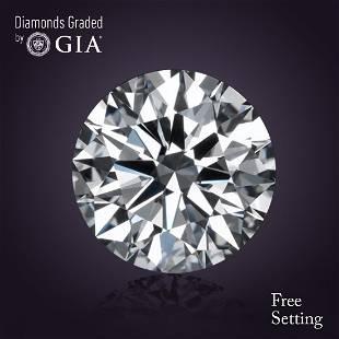 381 ct Color DVVS1 Round cut Diamond