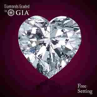 419 ct Color HVS1 Heart cut Diamond