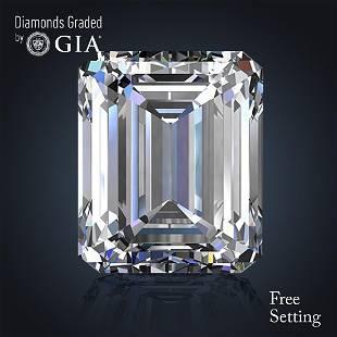 404 ct Color EVS2 Emerald cut Diamond