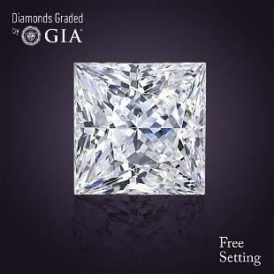201 ct Color GVS2 Princess cut Diamond