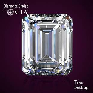 201 ct Color FIF Emerald cut Diamond