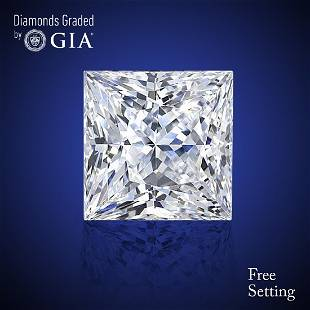 351 ct Color DIF Princess cut Diamond