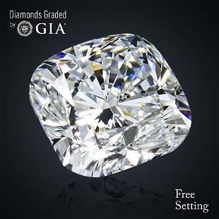 201 ct Color GVS2 Cushion cut Diamond