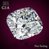 3.00 ct, Color F/VS1, Cushion cut Diamond