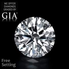 21.11 ct, Color D/VVS1, Round cut Diamond