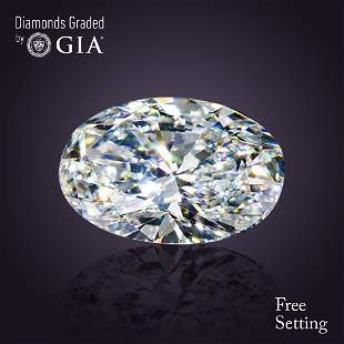 506 ct Color DVS1 Oval cut Diamond