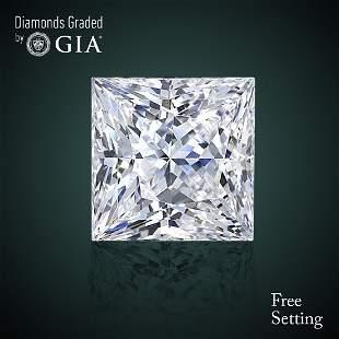 230 ct Color DVS2 Princess cut Diamond