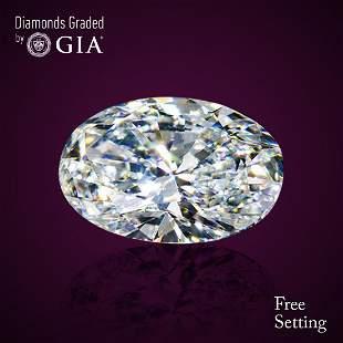501 ct Color FVS1 Oval cut Diamond