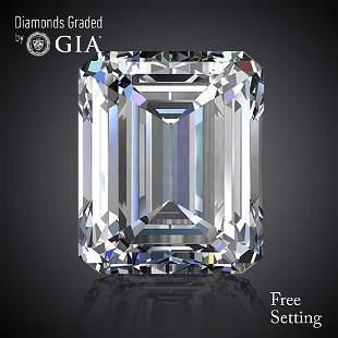 402 ct Color GIF Emerald cut Diamond