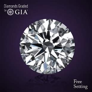 501 ct Color HVS1 Round cut Diamond