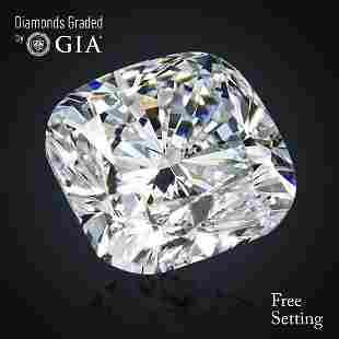 305 ct Color HVVS2 Cushion cut Diamond