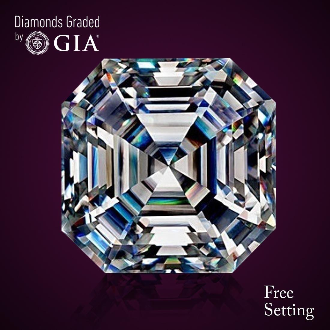 2.52 ct, Color D/VVS2, Sq. Emerald cut Diamond