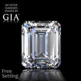 10.04 ct, Color H/VS1, Emerald cut Diamond