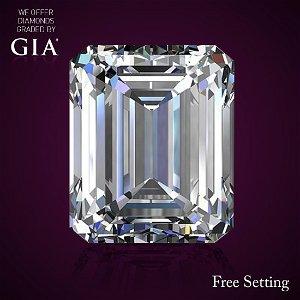 5.34 ct, Color D/VVS1, Emerald cut Diamond