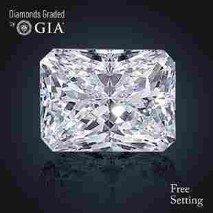 301 ct Color FVS1 Radiant cut Diamond