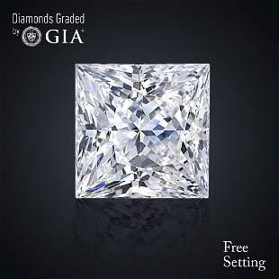 301 ct Color DVS1 Princess cut Diamond