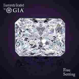 401 ct Color GVS2 Radiant cut Diamond